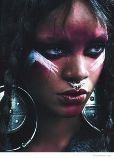 Bold & edgy Rihanna in W Magazine.