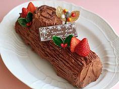 簡単クリスマスロールケーキ、ブッシュドノ