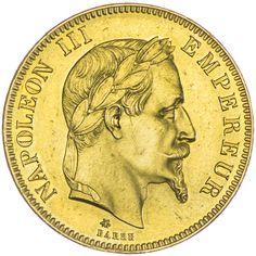 100 Francs 1869 A, Gold