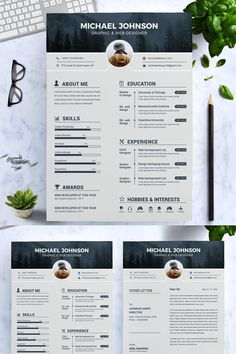 Welcome to the Resume Inventor!==========================We are professionals with several years of experience in the job recruitment industry. Graphic Designer Resume Template, Graphic Resume, Graphic Design Resume, Modern Resume Template, Resume Design Template, Creative Resume Templates, Cv Template, Resume Cv, Website Template