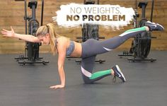 19 Bodyweight Exercises You Can Literally Do Anywhere | Women's Health #musclebuilding