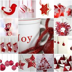 Red and White Christmas Cheer
