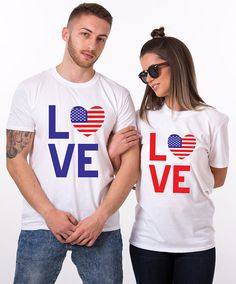 couple tshirts tshirts goals Get This Customised Tshirts Shipping Available. Couple Tees, Matching Couple Shirts, Couple Tshirts, Matching Couples, Family Shirts, Matching Outfits, Matching Set, Fourth Of July Shirts, 4th Of July Outfits