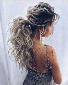 The Most Gorgeous Short Wedding Hairstyles Braided Hairstyles For Wedding, Ponytail Hairstyles, Trendy Hairstyles, Hairstyle Ideas, Updos, Hair Inspo, Hair Inspiration, Bridesmaid Hair, Prom Hair