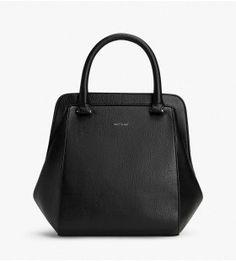 Vegan Leather. SHEENAN - BLACK