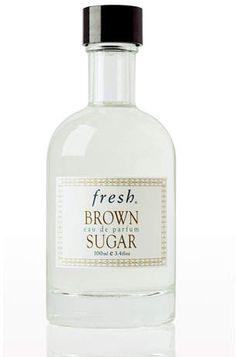 Lately Loving: Fresh Brown Sugar Perfume Lovely Perfume, Best Perfume, Fresh Sugar, Cosmetics & Perfume, Cosmetic Packaging, Brown Sugar, Fragrances, Skincare, Face Care