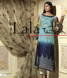 Sana & Samia Digital Embroided Kurti Vol 3. SSK_01