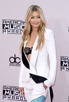 Gigi Hadid at 2014 American Music Awards in Los Angeles