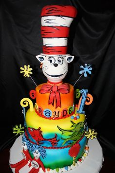 Dr. Suess cake — Fantasy/Gothic/Fairytale
