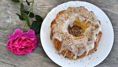 Φίνο κέικ αμυγδάλου Bagel, Doughnut, Lemon, Sweets, Bread, Candles, Baking, Desserts, Recipes