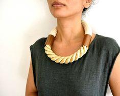 rope necklace ( h e r a ). $172.00, via Etsy.