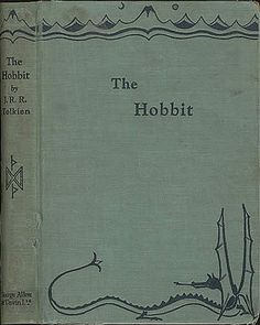 The Hobbit First Edition. Drawn by Tolkien himself.