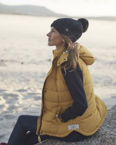 Vitamin Sea gilet for spring days- love this colour #Joules #myjoulesescape #eastergetaway