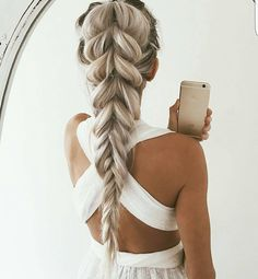 """""""This will be our hairdo for tommorow. Double tap if you like this look ❤ : @emilyrosehannon"""""""