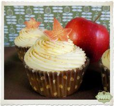 Cupcakes de manzana y miel
