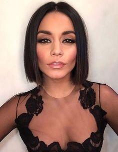 Vanessa Hudgens sexy  in black sheer see through dress