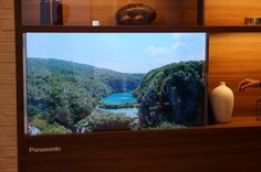 Panasonic écran TV OLED transparent