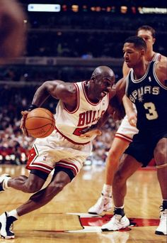 Michael Jordan Chicago Bulls San Antonio Spurs Monty Williams