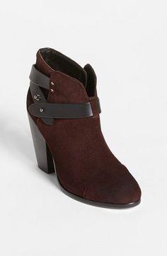 In search of: burgundy/rust suedebooties! rag & bone 'Harrow' Boot available at #Nordstrom
