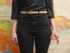 THE SLIM BELT Sore Hands, Old Tools, Leather Pants, Slim, Belt, Collection, Fashion, Leather Jogger Pants, Belts