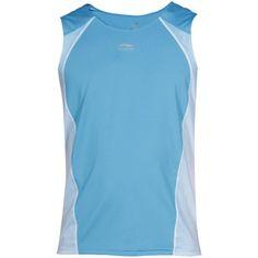 Li Ning - Camiseta de runnign turquesa sin mangas para chico #camiseta #realidadaumentada #ideas #regalo