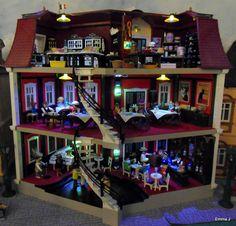 playmobil villa met poppetjes&accessoires