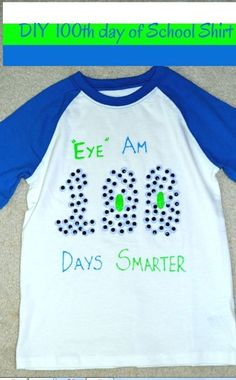 BEST 100 DAYS OF SCHOOL SHIRT IDEAS I don't know about you guys but the day of school sneaks up on me every year and before I know it my kids need a t-shirt with 100 things stuck to it. 100th Day Of School Crafts, 100 Day Of School Project, 100 Days Of School, First Day Of School, School Fun, School Projects, School Week, School Life, School Stuff