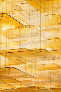 St. Regis Istanbul - Lasvit Interior Lighting, Lighting Design, Western Restaurant, Chinese Restaurant, Hospital Design, Restaurant Lighting, Ceiling Installation, Luxury Chandelier, Ceiling Treatments
