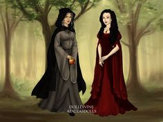 Snow White and The Evil Queen in Disguise