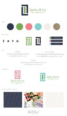 New Brand Launch: Lattice & Ivy | Brand Design by Salted Ink Digital Design Co. | www.saltedink.com