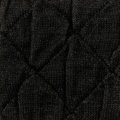 Dubbelstickad svart m struktur