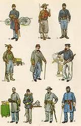 civil war uniform coloring page an