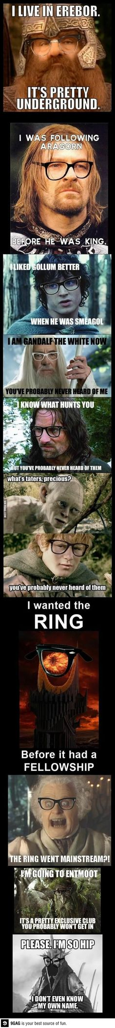 Hipster Lord of the Rings