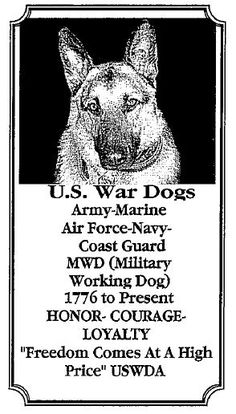 United States War Dog Association Chapter 1 Western Region - US War Dogs Military Working Dogs, Military Dogs, Navy Coast Guard, German Shepherd Dogs, German Shepherds, Us Vets, Work With Animals, War Dogs, Man And Dog