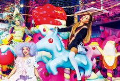Ariana Grande photoshoot for Vogue Japan