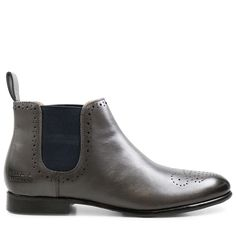 Stiefeletten Sally 16 Salerno Grey Elastic Navy HRS