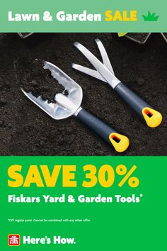 Lawn & Garden Sale, on now until May 19. Lawn And Garden, Garden Tools, Gardening, Yard Tools, Horticulture