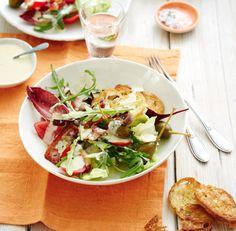 Caeser Salad nach Art von Jörg Sackmann (Heft: Mai 2015) Foto © Thorsten Suedfels für ARD Buffet Magazin