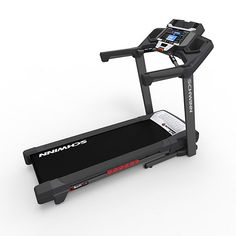 Product Features  26 programs: including manual, quick goal, train, weight control, heart health, interval and custom workouts Schwinn Fitness Score calculates user's current fitness level after the completion of each workout 6 cell Softrak™ cushioning system for a smooth run SoftDrop™ folding system that allows for your treadmill to be easily moved and stored DualTrack™ blue backlit LCD display, media shelf, in console speakers with an MP3 port, USB charging and adjustable 3 speed fan