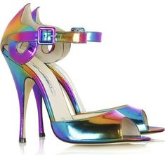 Brian Atwood Margie Peep Toe Sandals ❀
