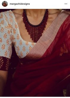 indian fashion Blouse -- CLICK Visit link above for more options Indian Attire, Indian Wear, Indian Outfits, Indian Dresses, Indian Style, Indian Clothes, Sari Blouse Designs, Saree Blouse Patterns, Khadi Saree