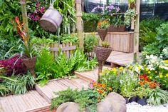 Decoração de ambientes externos de maneira sustentável