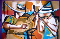 cesar santos paintings | Painting ©2008 por Laurindo Joao Dos Santos Lauro - Pintura