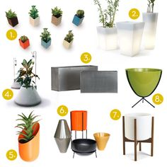Grow It: 25 Awesome Modern Planters!