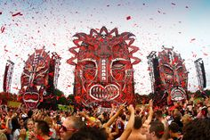 The mainstage at Defqon.1 NL from 2013. Best Hardstyle festival there is.