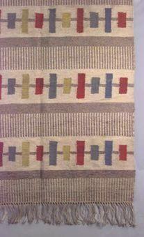 rölakan: interlock | unbleached linen + wool | Sweden