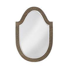 Howard Elliott Oval Lancelot Mirror 21 x 32