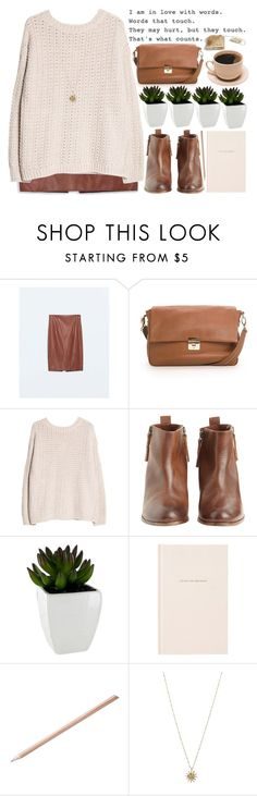 words that touch by evangeline-lily on Polyvore featuring MANGO, Zara, Hoss Intropia, ASOS, Kate Spade, mango and zara