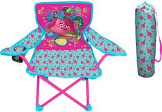 DreamWorks Trolls Poppy Fold N Go Chair - Kids Dreamworks Trolls folding armchair with cup holder Measures: H x x Reusable stuff sack with carry handle Maximum weight capacity: 60 lbs. 9gag Funny, Funny Memes, Troll, Girls High Top Sneakers, Creative Kids Rooms, Diy Chair, Cool Chairs, Desk Chairs, Toy Storage