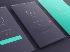 Web app design inspiration 2017 user interface examples - ca Mobile App Design, Mobile Login, App Login, Ios App, Iphone Login, Iphone App, Login Page Design, App Ui Design, Android Design